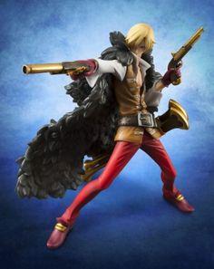 One Piece Figure: Sanji Edition Z Portrait of Pirates (1/8 PVC) #RightStuf2013