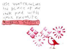 corey marie ♥ com » 12 DIY Watercolor Techniques: