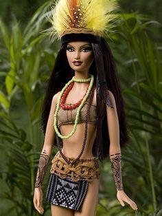 Amazonian barbie