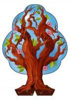 Весна. Дерево «Времена года» своими руками