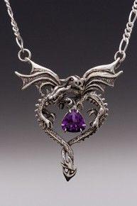 Dragon Heart with Amethyst