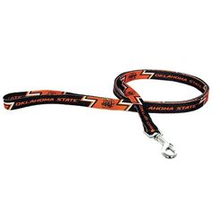 NCAA Oklahoma State Cowboys Pet Lead Large Team Color -- Visit the image link more details.-It is an affiliate link to Amazon.