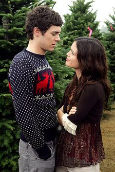Celebrities in Ugly Christmas Sweaters-Adam Brody