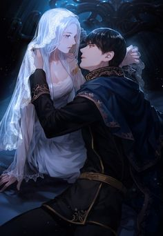 anime pictures on Instagr - anime Couple Anime Manga, Anime Love Couple, Cute Anime Couples, Anime Guys, Manga Anime, Art Anime Fille, Anime Art Girl, Fantasy Anime, Fantasy Art