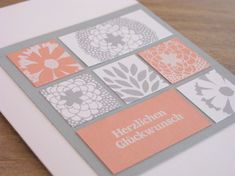 zeit-zum-basteln.de - zarte Inchi-Karte (inchie card) mit Stampin Up