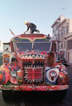 Ken Kesey and the Merry Pranksters' bus