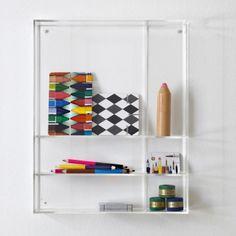 Curiosity Box Shelves