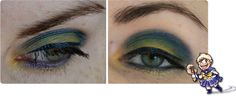 Sailor Uranus inspired make up by http://shenjas-blog.blogspot.de/2013/02/inspiriert-von-sailor-uranus.html