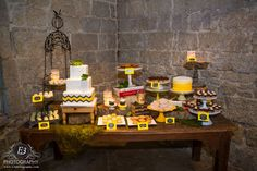 Delicious yum-yums for a Gluten Free Bride!