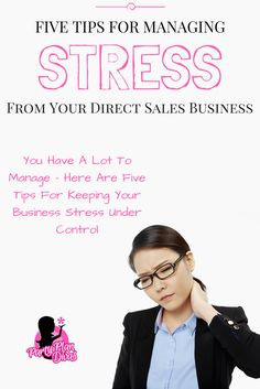 Running a direct sales business can be incredibly stressful. It's time to get rid of that stress and get back on the track to productivity. Here I have for you 5 tips to help beat business stress so you can begin to operate at your peak performance. Business Advice, Business Planning, Event Planning, Business Management, Fun Awards, Understanding Anxiety, Direct Sales, Direct Selling, Finance Tips