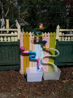 Water Station Best Picture For Outdoor Play Areas learning spaces For Your Taste You are looking for Natural Playground, Outdoor Playground, Playground Ideas, Sand And Water, Water Play, Outdoor Play Spaces, Outdoor Fun, Sensory Garden, Backyard Play