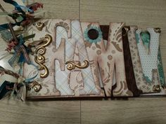 Family chipboard album class at 3 Craft Chicks ~ the COOP