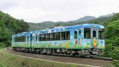 JR東日本「POKEMON with YOU トレイン」(一ノ関~気仙沼) ※快速「ポケモントレイン気仙沼号」として土日休日、夏休みなどの多客期の毎日運行。