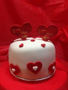 Valantine's cake