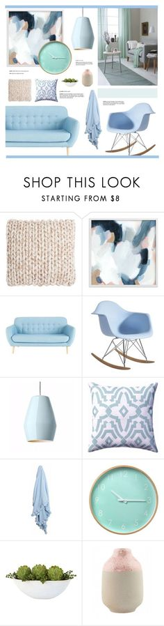 """Sin título #2610"" by liliblue ❤ liked on Polyvore featuring interior, interiors, interior design, home, home decor, interior decorating, Safavieh and House Doctor"