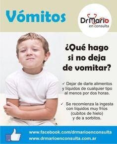 Vómitos ¿cómo tratarlos? Ver más en: http://www.drmarioenconsulta.com.ar/?p=2095