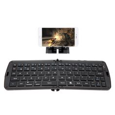 Mini Wireless Bluetooth 3.0 Folding Keyboard for iPhone iPad iPod Touch iOS Google Nexus Samsung Galaxy Android Tablet Laptop Smartphone