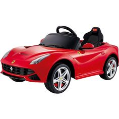 Ferrari F12 12v Car Red RC Ride-On featuring polyvore