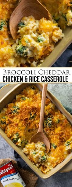 Special Party Broccoli Cheddar Chicken and Rice Casserole Lass uns diese Rezepte kochen . Healthy Recipes, Lunch Recipes, Dinner Recipes, Cooking Recipes, Delicious Recipes, Yummy Food, Broccoli Cheddar Chicken, Chicken Broccoli Rice Casserole, Broccoli Bake