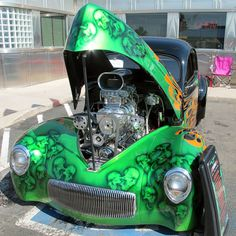 Take a look at the nice rides on display at the Rosie's Diner 2014 Car Show