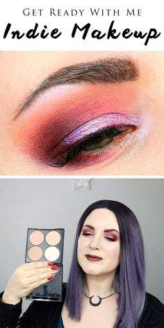 Get Ready With Me Indie Makeup – a burgundy and purple duochrome look with Makeu… – Eye Makeup Simple – - Moyiki Sites Black Eye Makeup, Simple Eye Makeup, Natural Eye Makeup, Eye Makeup Tips, Makeup Blog, Smokey Eye Makeup, Makeup Ideas, Makeup Geek, Makeup Tutorials