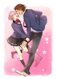 flirting games anime characters girls full length