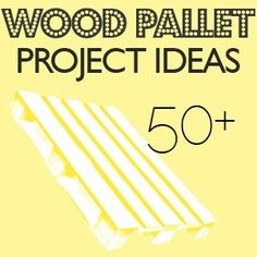 more wooden pallet ideas