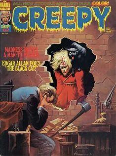 Warren - The Black Cat - Edgar Allan Poe - Madness - Man