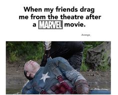 The most accurate thing ever.<<< This will be me after Civil War, not gonna lie《《《Totally gonna be me.