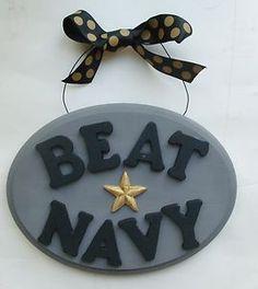 Beat Navy plaque, USMA West Point, Go Army, cadet mom | eBay