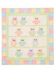 Who Baby Quilt Pattern - I don't usually pin patterns you have to pay for, but this is close to what I had in mind