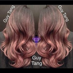 I'm Obsessed! Guy Tangs signature rose gold ombre