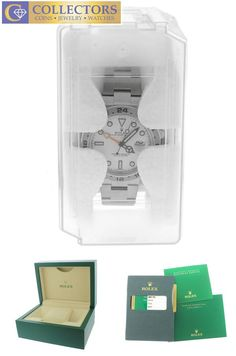 New 2017 Rolex Explorer II 42mm 216570 White Stainless GMT Date Watch Collectors Brand Rolex (Guaranteed Authentic) Model Explorer II Reference Number 216570 Se