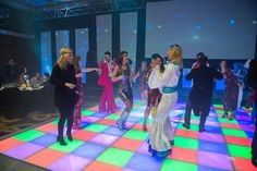 Our Dance Floors are available to hire for charity balls, gala dinners or private parties. Book our LED Dance Floors for weddings in London & the UK. Dance Floor Rental, Dance Floor Wedding, Led Furniture, Bespoke Furniture, Led Dance, Floors And More, Night Fever, Outdoor Events, Corporate Events