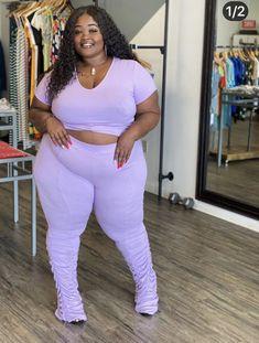 Chubby Fashion, Thick Girl Fashion, Curvy Women Fashion, Plus Size Fashion, Teen Fashion, High Fashion, Plus Size Birthday Outfits, Plus Size Outfits, Curvy Girl Outfits
