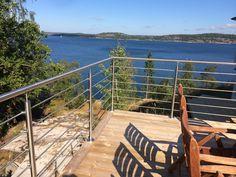 Bild 17 Rostfritt räcke med 5 stänger på altan Tyresö
