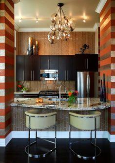 küchenlösungen für kleine küchen offene regale küchenmöbel ... - Küchenlösungen Für Kleine Küchen