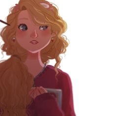 Luna Lovegood by Punziella discovered by Pamela Harry Potter Drawings, Harry Potter Fan Art, Harry Potter Universal, Harry Potter World, Luna Lovegood, Ravenclaw, Scorpius And Rose, Tadashi Hamada, Punziella