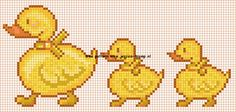 free duck embroidery pattern