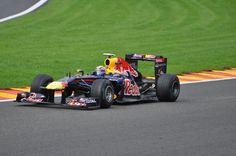 Formula One Racing in Belgium - Red Bull Team