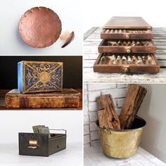 Urban chic finds for fall storage!
