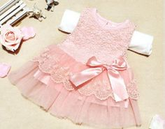 2017 brand Baby Girls Dress Party Sleeveless Lace Crochet Princess Dress Kids With Bow Belt Mini Party Mesh Tutu Dresses White Baby Dress, Girls Lace Dress, Girls Party Dress, Girls Dresses, Party Dresses, Dress Party, Dress Lace, Dresses For Toddlers, Summer Dresses