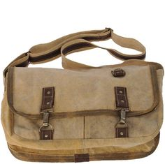 The Metro Messenger Bag. Recycled canvas with vegan leather details and  produced in a truly sustainable manner! 200a82ec7910