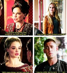 Once Upon A Time and Once Upon A Time In Wonderland parallels.