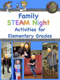 Family STEM / STEAM Night All Inclusive Package!