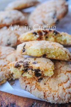 Italian Cookie Recipes, Italian Cookies, Italian Desserts, Cookie Desserts, Sweet Desserts, Vegan Desserts, Italian Biscuits, Ricotta, Biscotti Cookies