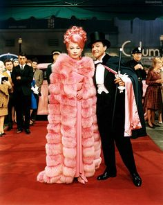Shirley MacLaine & Gene Kelly in What a Way to Go!, 1964. Costumes for Shirley designed by Edith Head.