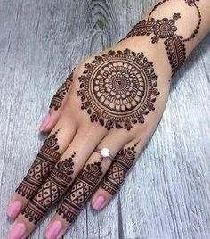 As the time evolved mehndi designs also evolved. Now, women can never think of any occasion without mehndi. Let's check some Karva Chauth mehndi designs.Legs are a very beautiful canvas for showcasing Mehndi. It is a tradition for the Indian bride to