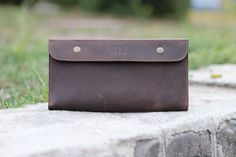 This is the best handmade wallet for those who love traveling! This leather travel wallet can hold two passports, a lot of cash, your phone, and at least seven business or . Leather Passport Wallet, Clutch Wallet, Gifts For Wife, Gifts For Her, Handmade Clutch, Handmade Wallets, Leather Clutch, Personalized Gifts, Document Holder