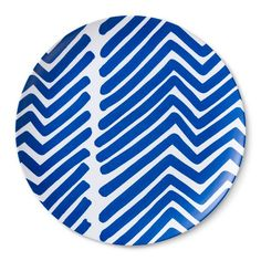 Blue and white plate - Marimekko for Target